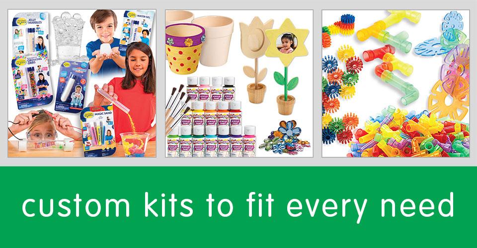 Custom Kits to Fit Every Need