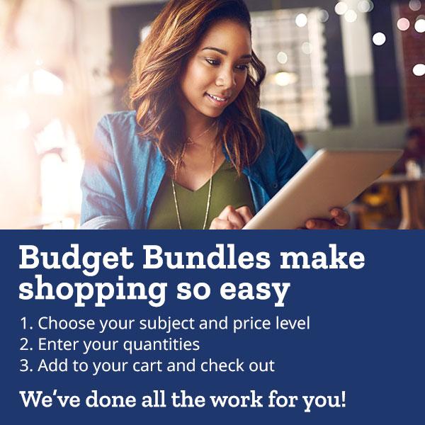 Budget Bundles make shopping so easy